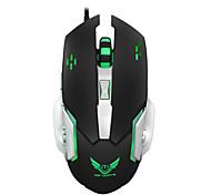 Недорогие -Макро определение играя мышь 3200dpi механическая мышь игра мышь usb 6 кнопка проводная оптическая компьютерная мышь геймер ПК для