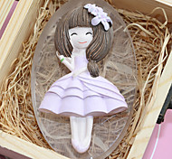 Long Dress Girl Mold DIY Silicone Soap Candle Mold Handmade Soap Salt Carved DIY Silicone Food Grade Silicone Mold