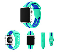 Sport Watch Band for Apple Watch 3 38mm 42mm Silicone Replacement Band Bracelet