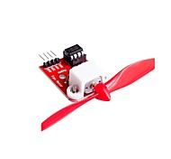 Недорогие -Модуль управления двигателем вентилятора l9110 с пропеллером для конструкции роботизированного пожаротушения arduino