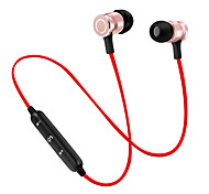 cheap -soyto Circle-S6-1 Wireless Headphones Aluminum Alloy Sport & Fitness Earphone Magnet Attraction / with Volume Control / with Microphone