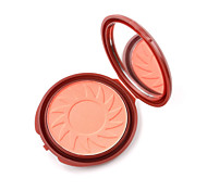 Flawless Face Powder Baked Blusher Face Highlight Cheek Makeup Pressed Palette Cheekbones Cosmetic Contour Natural Pro Coral Bright Pink Vibrant