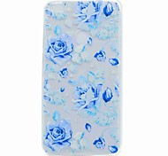 For Huawei P10 Plus P10 Lite Back Cover Case Blue Rose Soft TPU for Huawei P10 P8 LITE P8 LITE(2017) P9 LITE Y6 Y5 II Y6 II MATE 9 NOVA Honor 6X