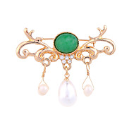 cheap -Women's Brooches - Personalized / Euramerican / Fashion Green Brooch For Wedding / Party / Special Occasion