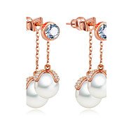 Women's Jewelry Unique Design Fashion Euramerican Costume Jewelry Pearl Zircon Alloy Jewelry Jewelry For Wedding Birthday Party/Evening