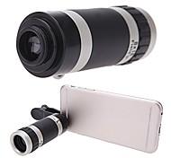Universal 8X Zoom Portable Clip-On Mobile Phone Camera Telephoto Lens Telescope Camera for iPhone 7 6S 6 5S 5C 5 4S iTouch iPad Samsung HTC