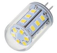 5.5W G4 LED Bi-pin Lights T 24 leds SMD 2835 Warm White Cold White 200-300lm 2700-6500K AC/DC 12V