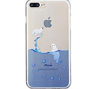 Недорогие -Для яблока iphone 7 7 плюс 6s 6 плюс se 5s 5 печать шаблон окрашены высокий уровень проникновения tpu материал imd процесс мягкий чехол