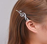 Европа и США внешняя торговля мода простые аксессуары для волос индивидуальность джокер шпилька ритм шпилька a0316 ноты - 0317