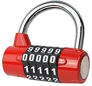 BL1033 Zinc Alloy Padlock 5 Digit Password Companion Gym Gym Locks Locks Locks Locks Door Locks Toolbox Anti-Theft Locks Dail Lock Password Lock