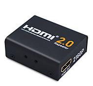 abordables -HDMI 2.0 Cable de extensión, HDMI 2.0 to HDMI 2.0 Cable de extensión Hembra - Hembra 4K*2K Cobre dorado 20 Gbps