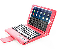 For Case Cover with Stand with Keyboard Flip Full Body Case Solid Color Hard PU Leather for Apple iPad Mini 4 iPad Mini 3/2/1