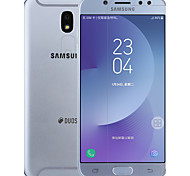 cheap -Screen Protector Samsung Galaxy for J7 (2017) PET 2 pcs Front & Camera Lens Protector Anti-Glare Anti-Fingerprint Scratch Proof Matte