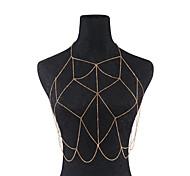 Women's Body Jewelry Body Chain Fashion Handmade Costume Jewelry Iron Geometric Jewelry For Dailywear Casual Outdoor clothing Club