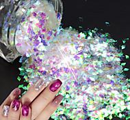 economico -1 pcs Con lustrini / Glitter per unghie Brillante e glitterato / Laser Holografico Nail Art Design