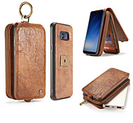 Case For Samsung Galaxy S8 Plus S8 Case Luxury Retro Multi Functional 2 In 1 Second Layer Leather Wallet Case Magnet Back Cover S7 Edge