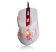 Ajazz-aj100 First Blood Laser Mouse 8200 DPI 6 Button LED Optical USB Wired  Gaming Mouse A9800