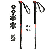 KORAMAN 2 Pack Ultralight Compact Anti shock Collapsible Walking Hiking Trekking Poles
