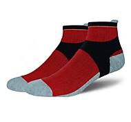 Спортивные носки Велоспорт Носки Муж. Йога Бег Велосипедный спорт Пешеходный туризм Восхождение Анатомический дизайн Защитный Все сезоны