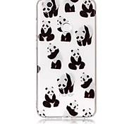 Чехол для huawei p9 lite p8 lite чехол чехол panda рисунок высокая проницаемость tpu материал imd технология флеш-накопитель телефон чехол