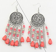 Women's Drop Earrings AcrylicBasic Unique Design Dangling Style Tassel Friendship Euramerican Gothic Movie Jewelry Durable Statement