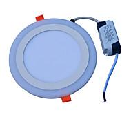 economico -JIAWEN 18W 90 LED Decorativo Luci a pannello Luce fredda Blu AC85-265