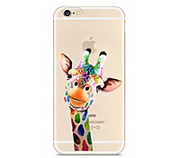 Para iPhone X iPhone 8 Carcasa Funda Transparente Diseños Cubierta Trasera Funda Animal Suave TPU para Apple iPhone X iPhone 8 Plus