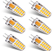 abordables -3W G4 Luces LED de Doble Pin T 20 leds SMD 2835 Blanco Cálido Blanco 300lm 3000-3500   6000-6500