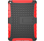 For  Apple iPad Pro 12.9'' Case Cover Shockproof with Stand Back Cover Case Solid Color Hard PC
