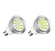 3W E14 LED Spotlight 16 leds SMD 5630 Warm White White 260-300lm 3000-3500/6000-6500K AC 220-240V