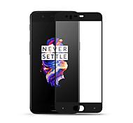 Недорогие -Защитная плёнка для экрана OnePlus для One Plus 5 Закаленное стекло 1 ед. Защитная пленка на всё устройство Защита от царапин HD