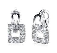 cheap -Women's Drop Earrings Cubic Zirconia Rhinestone AAA Cubic ZirconiaBasic Unique Design Tattoo Style Dangling Style Rhinestone Geometric