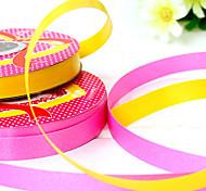 1.2cm ширина 1100cm длина воздушный шар бандаж ленты лента подарок упаковка день рождения праздничный украшение случайный цвет
