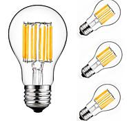 10W E27 Bombillas de Filamento LED A60(A19) 10 leds COB Decorativa Blanco Cálido Blanco Fresco 900lm 2700-6500K AC 175-265V