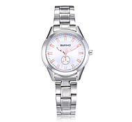 2017 New Quality Fashion Wrist Watch Quartz Water Proof Stainless Steel Band For Couple's
