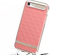 Случай для яблока iphone 7 плюс iphone 7 чехол случая ударопрочный корпус задней крышки твердый цвет твердый ПК для яблока iphone 6s плюс