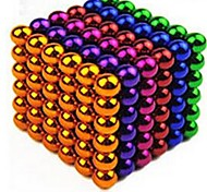 Magnet Toys 216 Pieces 5 MM Stress Relievers Magnet Toys Executive Toys Puzzle Cube For Gift