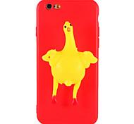 Случай для iphone 7 плюс 7 squishy diy случай задняя крышка случая куриное яйцо 3d мультфильм мягкий случай tpu для iphone 6 6s 6 плюс 6s