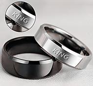 Недорогие --Нержавеющая сталь--Персональный подарок-Кольца-