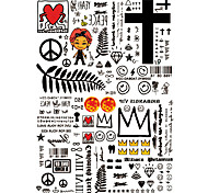 Тату со стразами Тату с животными Тату с цветами Тату с тотемом Прочее Олимпийская серия мультфильм серии Романтическая серия Серия