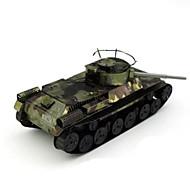 Недорогие -3D пазлы Пазлы Металлические пазлы Наборы для моделирования Игрушки Танк Своими руками Хром Металл Не указано Куски
