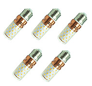 cheap -8W 800 lm E27 LED Corn Lights T 60 leds SMD 2835 Warm White White AC85-265