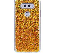 Caso para lg x estilo v20 estojo de telefone acrílico descolorido flash caso de telefone em pó k10 k8 k7 k4 x5 x max
