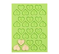 Недорогие -любовь сердце силикон номер плесень торт украшения инструменты помадка плесень шоколад фимо глиняная форма цвет случайный