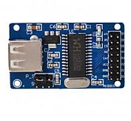 Модуль чтения флеш-памяти ch376s