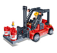 Building Blocks 3D Puzzles Toy Cars Forklift Toys Forklift DIY Kids Boys Girls Pieces