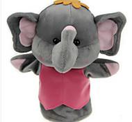 giocattoli farciti Bambole Gioco educativo Marionetta da dito Giocattoli Rabbit Elefante Orso Tiger Animali Bambino Pezzi