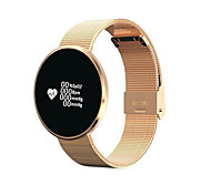 cheap -Smart Bracelet Touch Screen Heart Rate Monitor Water Resistant / Water Proof Calories Burned Pedometers Exercise Record Anti-lost Blood