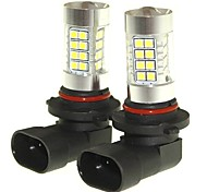 Sencart 2pcs 9006 P20d Fog Driving Light Headlight Bulbs Lamps(White/Red/Blue/Warm White) (DC/AC9-32V)