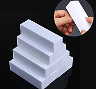 10 Pcs White Nail File Buffers Set Sanding Grinding Sponge Form Polishing Block Pedicure Manicure Nail Art Tool